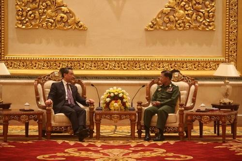 中缅合作维护和促进边疆和平稳定 hinh anh 1