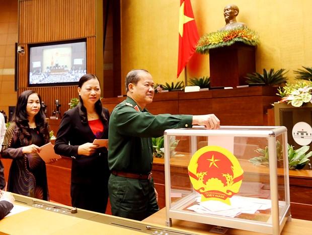 越南第十三届国会第十一次会议发表第十五号公报 hinh anh 3