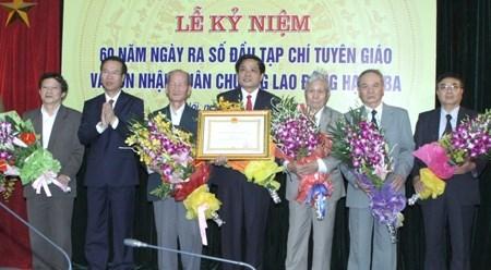 《宣教》杂志创刊60周年纪念典礼在河内举行 hinh anh 1