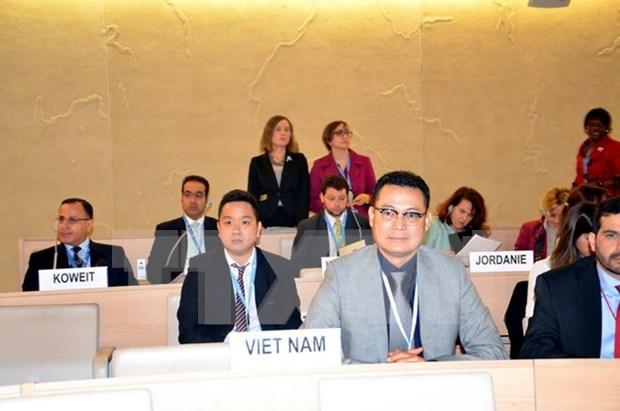 越南代表出席联合国防止暴力极端主义会议 hinh anh 1
