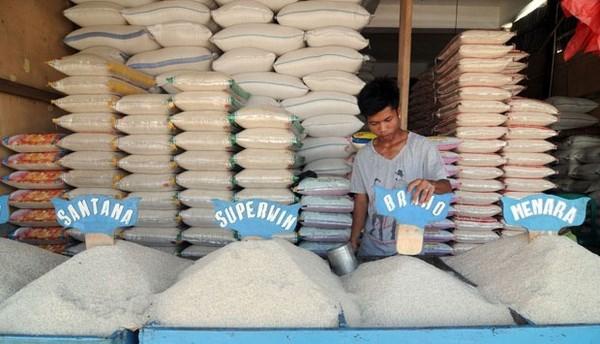 印尼力争对10个国家出口大米 hinh anh 1