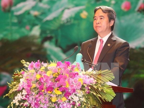 阮文平同志担任越共中央经济部部长 hinh anh 1