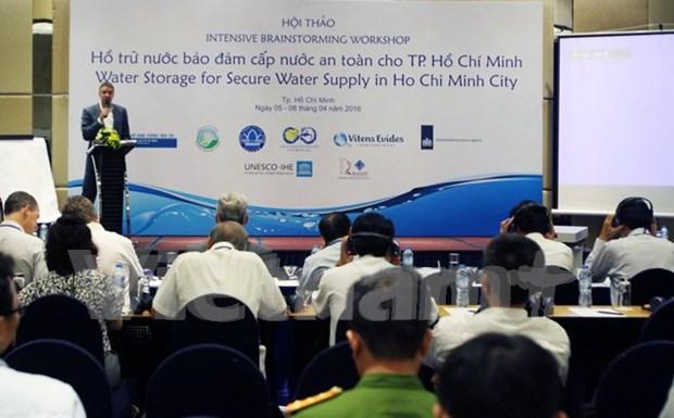 荷兰协助越南胡志明市制定安全供水方案 hinh anh 1