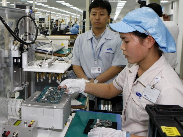 越南北宁省各工业区吸收投资资金2亿多美元 hinh anh 1