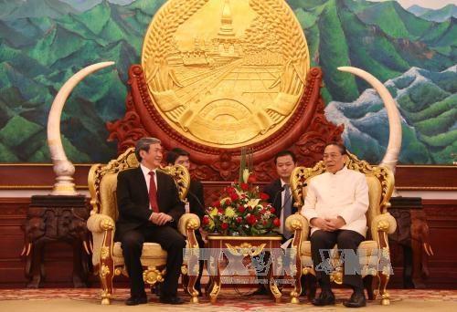 越南高级代表团对老挝进行正式访问 hinh anh 2