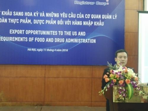 越南致力于协助出口企业满足美国市场要求 hinh anh 1