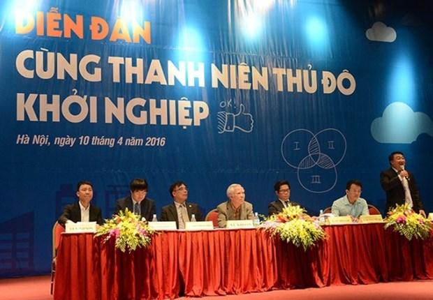 2016年第一次首都河内青年创业节在河内举行 hinh anh 1