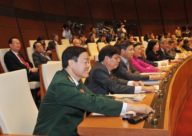第十三届国会第十一次会议:为第十四届国会和后续阶段奠定良好基础 hinh anh 1