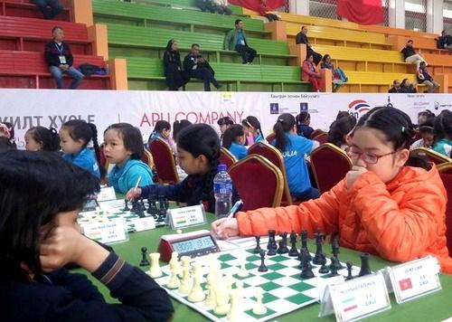 2016年亚洲青少年国际象棋锦标赛:武德智和武美玲夺金 hinh anh 1