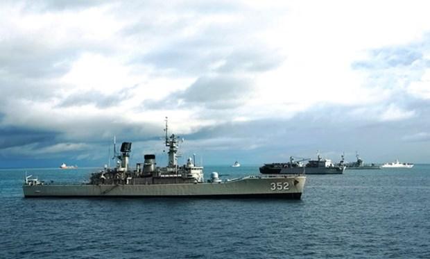 越南海军561号医院舰参加