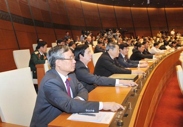 越南第十三届国会第十一次会议发表第十九号公报 hinh anh 1