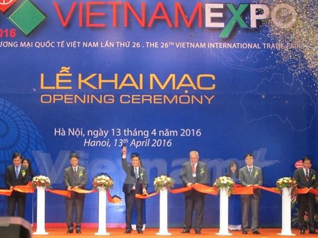 2016年越南国际贸易展在河内正式开展 hinh anh 1
