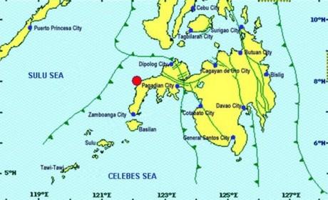 菲律宾南部发生6级地震 至少三人受伤 hinh anh 1