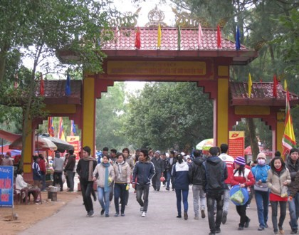 越南民族传统文化与信仰的保存地——昆山-劫泊 hinh anh 3