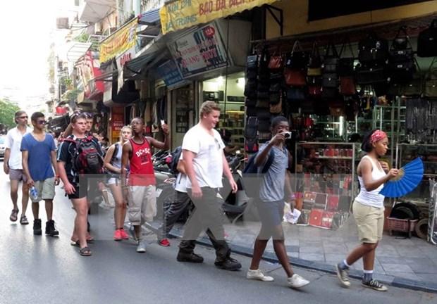 河内市接待国际游客量猛增 hinh anh 1