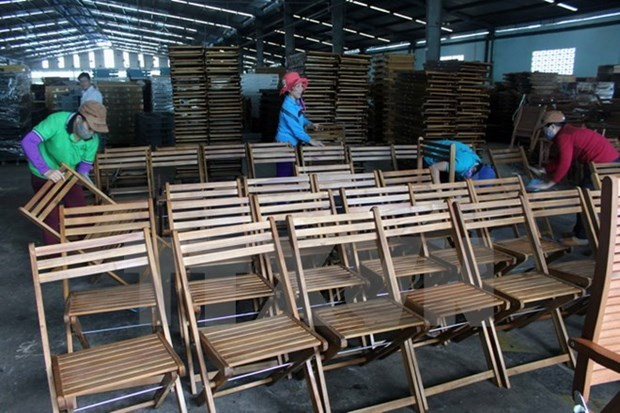 越南与欧盟就合法木材出口市场达成一致 hinh anh 1