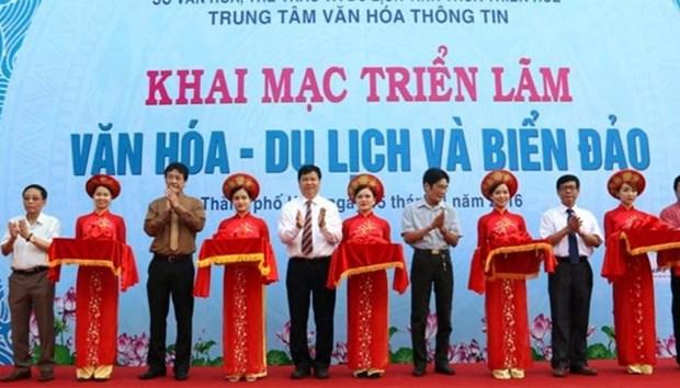 越南承天顺化省举办文化旅游和岛屿展览会 hinh anh 1