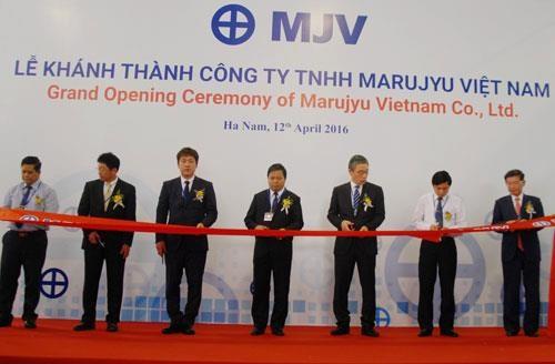 Marujyu(越南)金属零配件生产厂在河南省落成 hinh anh 1
