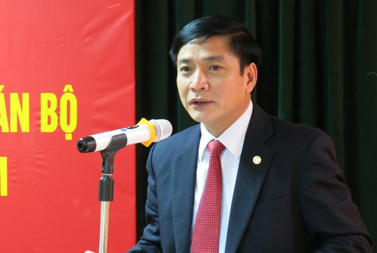 裴文强同志担任越南劳动总联合会主席职务 hinh anh 1