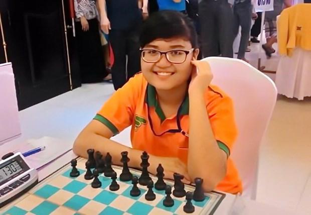 2016年亚洲青少年国际象棋锦标赛:越南棋手阮清水仙问鼎 hinh anh 1