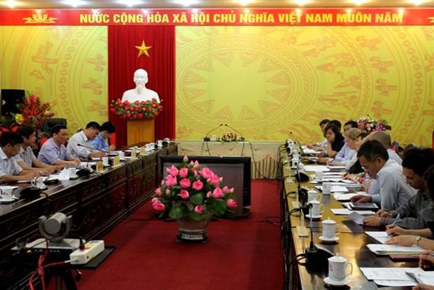 爱尔兰政府为越南河江省贫困地区提供援助 hinh anh 1