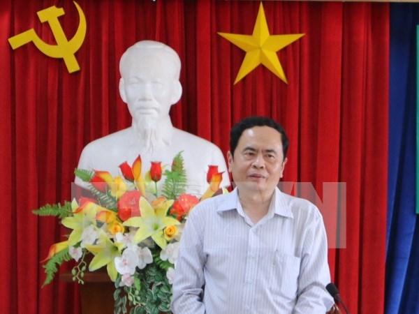 陈青敏同志担任越南祖国阵线中央委员会副主席兼秘书长职务 hinh anh 1
