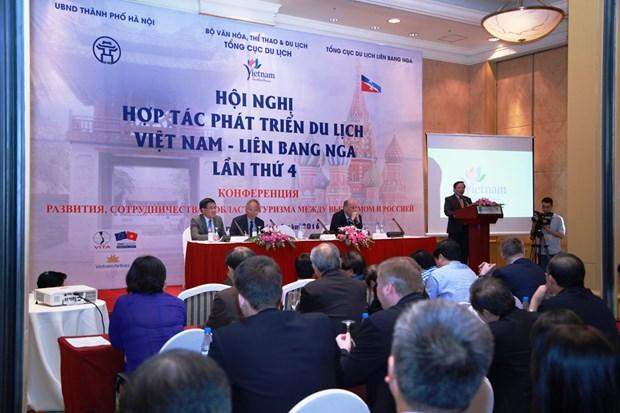 越南与俄罗斯加强旅游合作 hinh anh 1