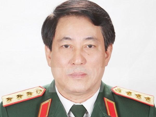 梁强上将担任越南人民军总政治局主任一职 hinh anh 1