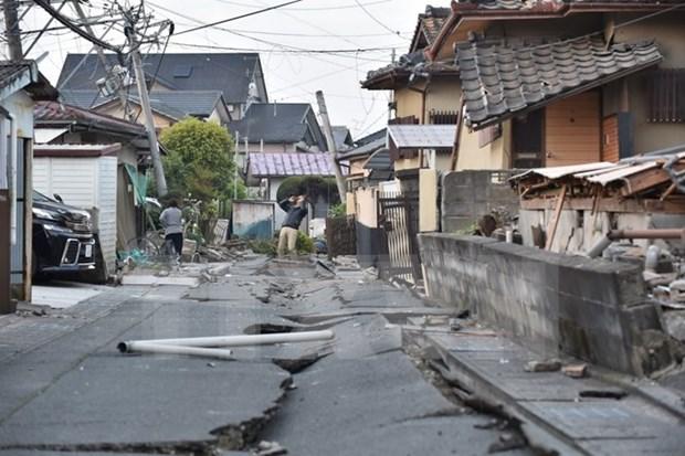 越南外交部:尚无越南公民在日本地震中伤亡报告 hinh anh 1