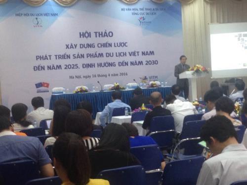 2025至2030年阶段越南旅游品牌战略制定研讨会在河内举行 hinh anh 1
