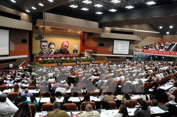 越南共产党致电祝贺古巴共产党第七次全国代表大会召开 hinh anh 1