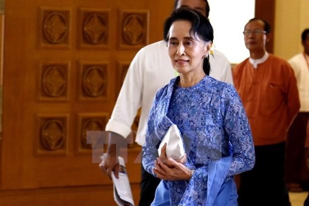 昂山素季强化缅甸全国民主联盟的坚定政策 hinh anh 1