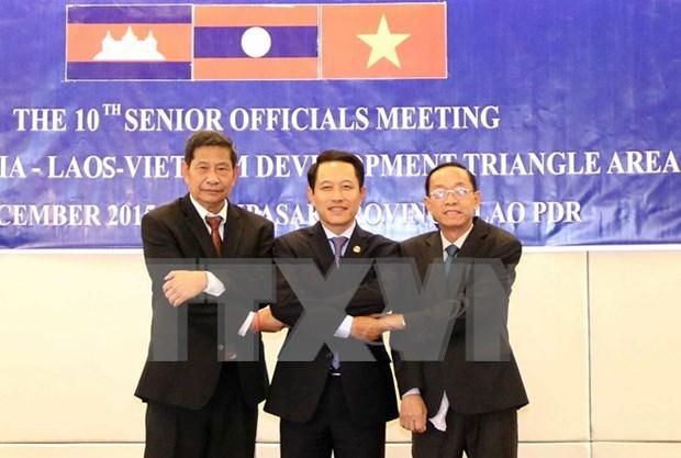 越老柬三角开发区贸易便利化协定第四轮谈判在越南举行 hinh anh 1