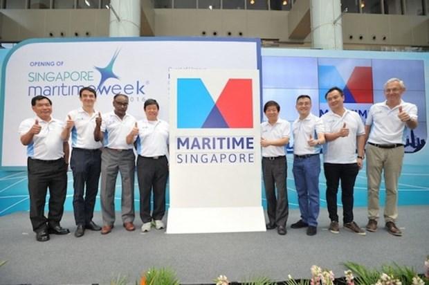 2016年新加坡海事周注重增长目标 hinh anh 1