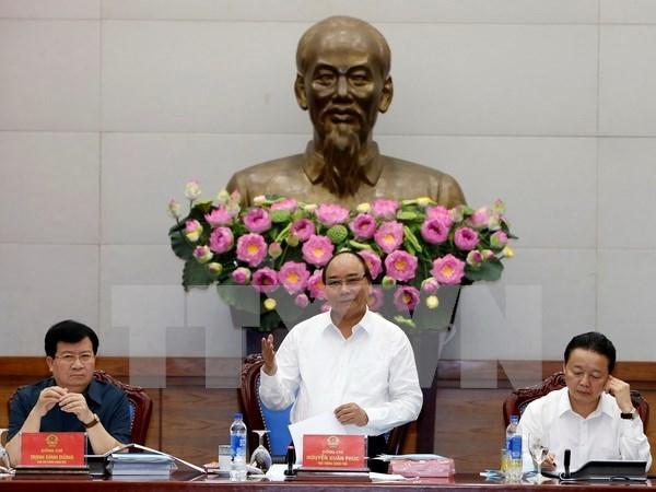 越南政府总理阮春福:依靠人民力量提高应对气候变化效益 hinh anh 1
