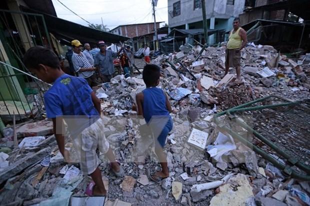 东盟声援遭受地震影响的国家 hinh anh 1