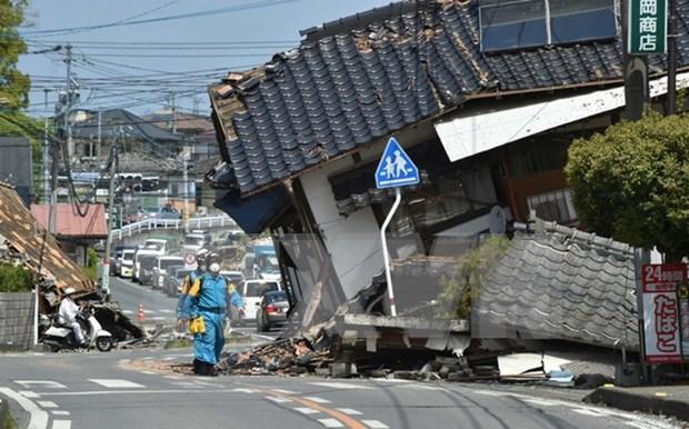越南努力保护遭受日本地震影响的越南公民 hinh anh 1