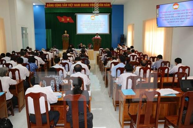 越南胡志明市人民议会代表候选人数175人 hinh anh 1