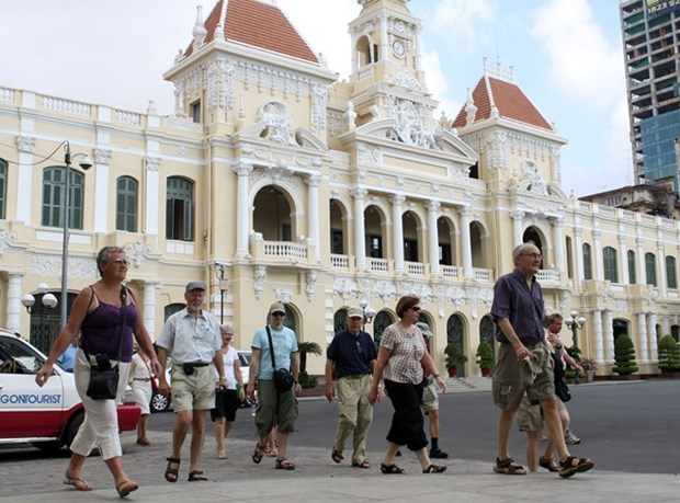 今年一季度胡志明市旅游营业收入达近12.23亿美元 hinh anh 1