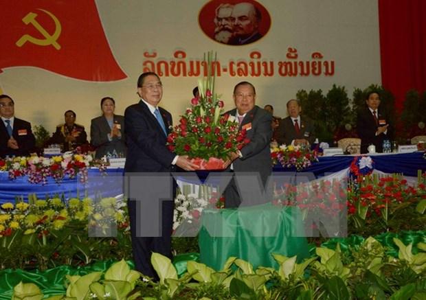 老挝选举产生新一届国家领导人 hinh anh 1