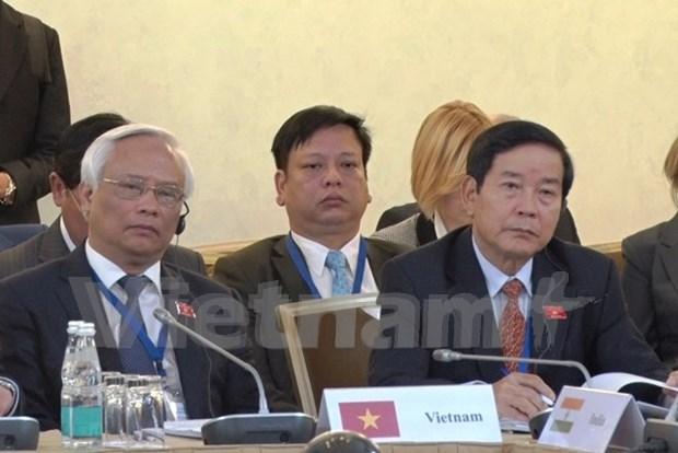 越南出席首届欧亚国家议长会议 hinh anh 1