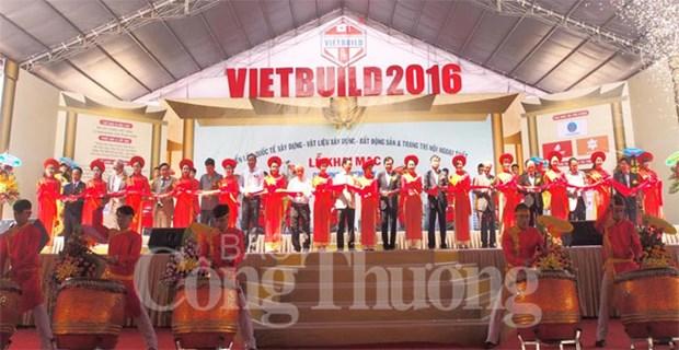2016年岘港国际建材展正式开展 hinh anh 1