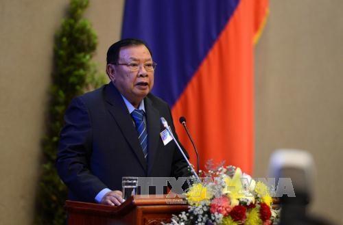 越南高层领导致电祝贺老挝新一届国家领导人 hinh anh 1
