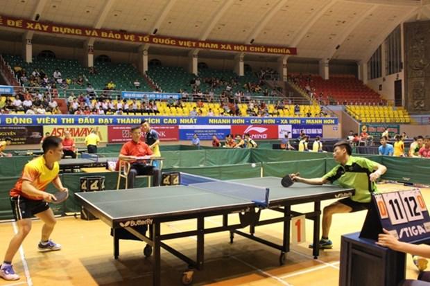 2016年黄石杯国际乒乓球比赛开赛 hinh anh 1