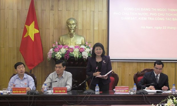 确保国会代表和各级人民议会代表换届选举工作依法有序进行 hinh anh 1