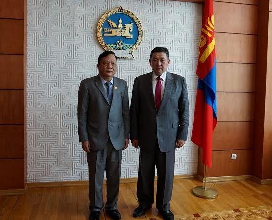 越南国会与蒙古议会加强合作 hinh anh 1