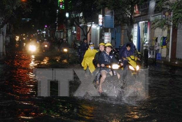 胡志明市拔出10万亿越盾用于解决城市淹水防治项目 hinh anh 1