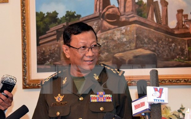 柬埔寨和美国加强海上安全合作 hinh anh 1