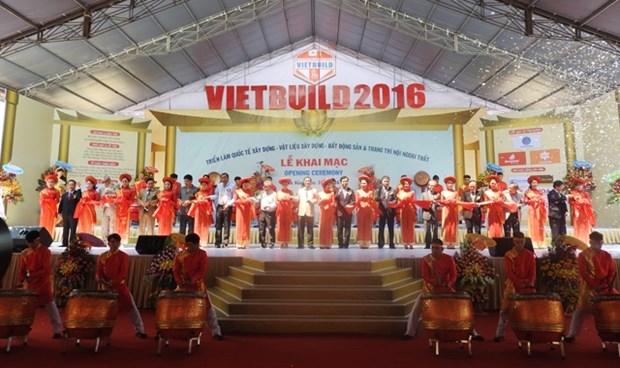 2016年越南岘港国际建材博览会在岘港市举行 hinh anh 1
