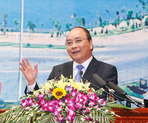 阮春福总理出席莱州省投资促进会 hinh anh 1